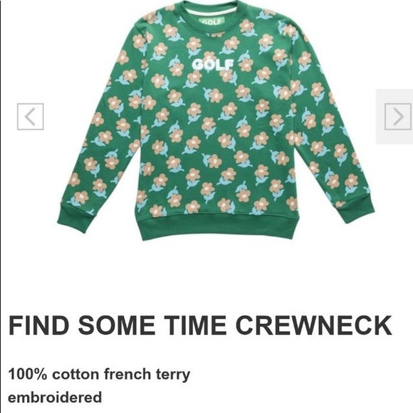126f6ef1faa8 golf wang Sweaters - Golf wang FIND SOME TIME crew neck